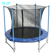 High quality 6FT-16FT new exercise outdoor gymnastic safety 20ft Trampoline with safety net