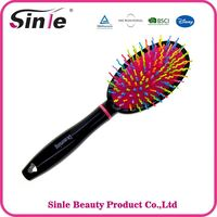 Top Quality Shape Colors hair brush removable pad