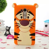 Cute Silicone Animal Shaped Soft Case For LG G3