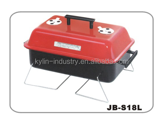 rectangular shape table usage bbq grill