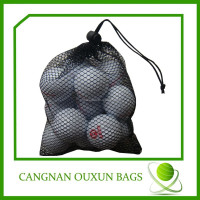 Hot sale drawstring golf ball bag