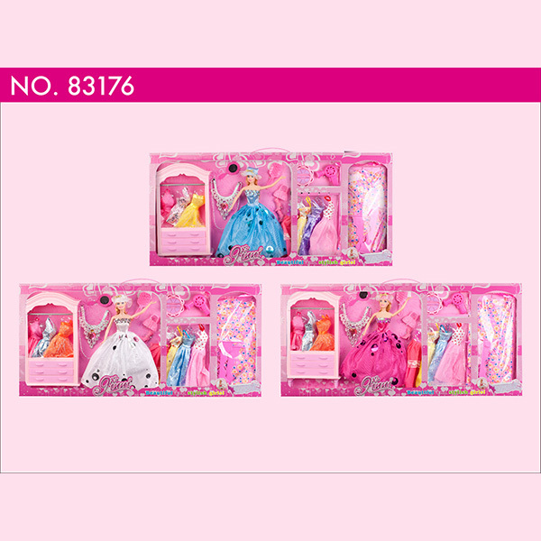 Ginni doll Cutting Fashional High Grade Princess Girls Toys Decoration Games Dolls Dressing