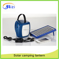 3W Solar LED camping lantern with solar panel