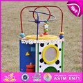 Baby kids montessori toys wooden learning toys for toddlers W11B090-S