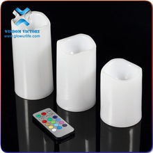 Wedding decoration Real Wax Flameless LED cemetery candle(WM-101),led tea light candle