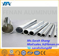 Extruded standard aluminium tube profiles for buildings