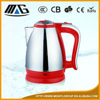 #201 ss body commercial electric stainless steel kettle, tea kettle, electric boling pot