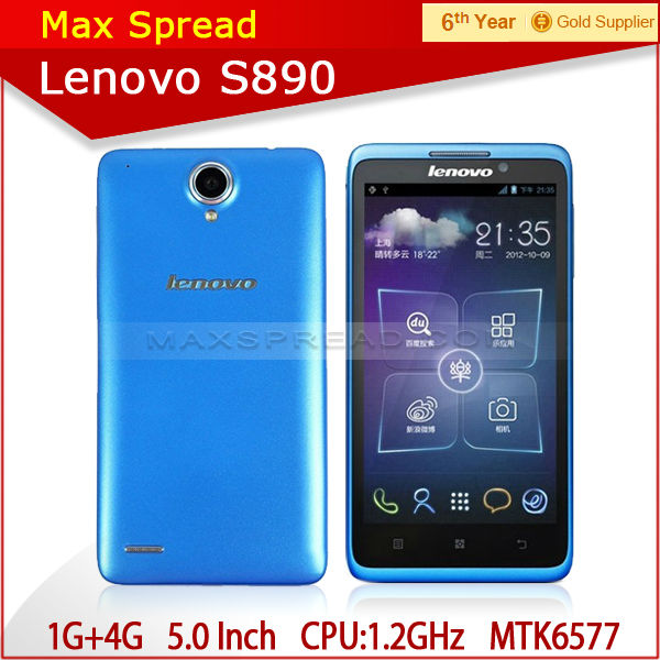 New Design MTK6577 1.2GHz DUAL CORE Lenovo S890 android phone