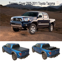 Folding hard tonneau cover for 2005-2011 Toyota Tacoma