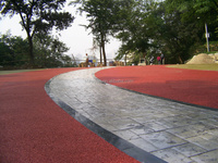 Iron oxide red130 for colored asphalt pigment