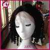 China factory wholesale elastic band brazilian hair glueless full lace human hair wig curly wigs with baby hair dropshipping