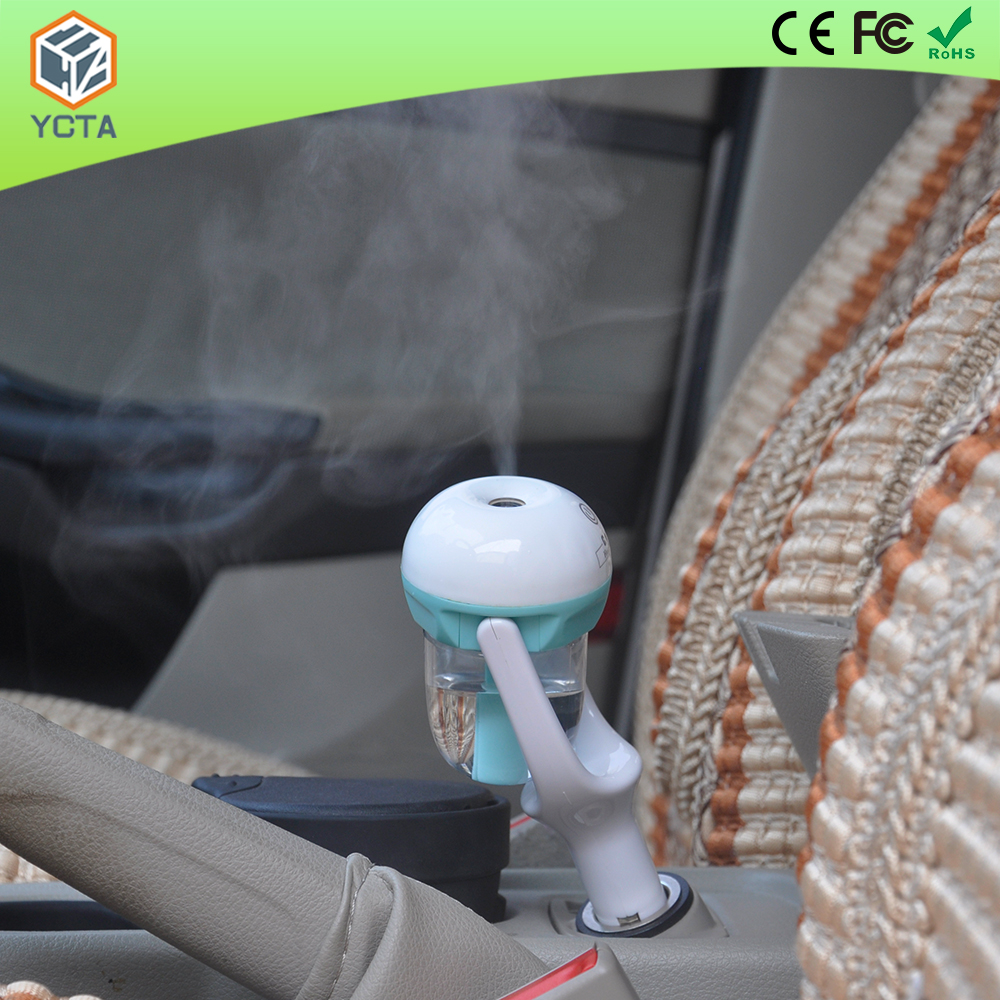 Car Air Freshener Aromatherapy Diffuser 50ml Rotatable Mini Air Car Humidifier Diffuser / Mist Maker For Home Car