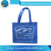 2016 China reusable custom printed low price non woven shopping bag