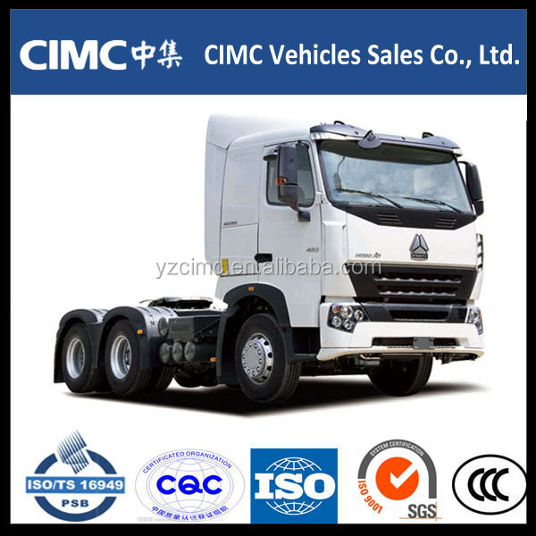 High Quality Sinotruck Howo Tractor Truck And Trailer Dimensions Tractor Truck