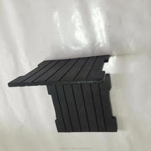 oil resistant rubber damping block with durable
