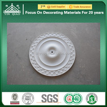 Europe Market Interior Decorative Fire-proof Plaster Ceiling Rose