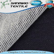 Free samples knitted denim rolls cotton fleece fabric for jeans