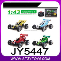 JY5447--Popular 1:43 4ch kart racing rc car