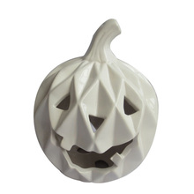 factory directly artificial ceramic fake pumpkin for halloween decor