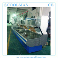Self Serve Cold Deli Refrigerated Display Counter