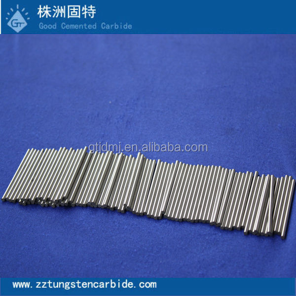 Zhuzhou tungsten carbide blank rods ,cemented solid welding rods