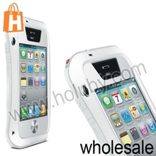 LOVE MEI Powerful Aluminum Bumper Outdoor Gear Armor Hybrid Metal +Hard Case for iPhone 4S 4 iPhone4 iPhone4S
