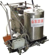 hot melt road marking paint machine