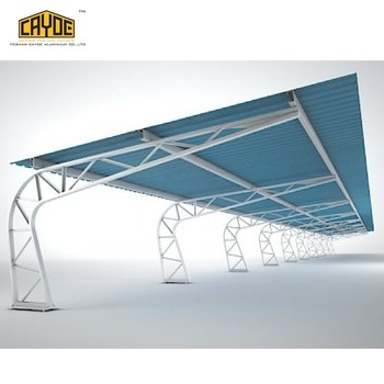 aluminum luxury gazebo car awning outdoor aluminum prefab wooden carport