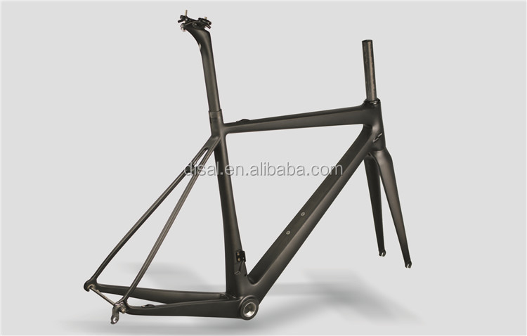 Only 780g Toray T1000 Full Carbon Road Frame Popular Carbon Road Bike Frame OEM 700C Bicycle Frame