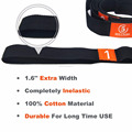 China High Quality 100% Polyester Elastic Yoga Stretch Strap with 10 loops for Exercise Sport