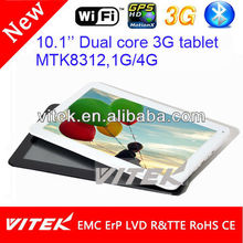 Factory android 10.1'' mini laptop 3g sim card slot