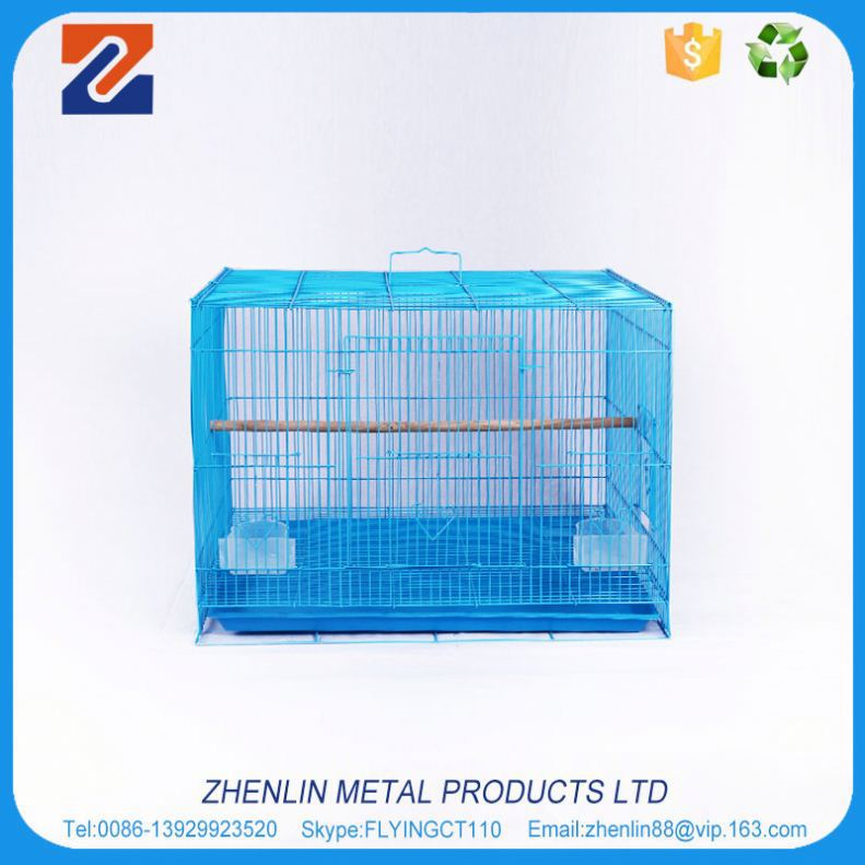 Factory wholesale good quality supplier pet product small metal bird cage
