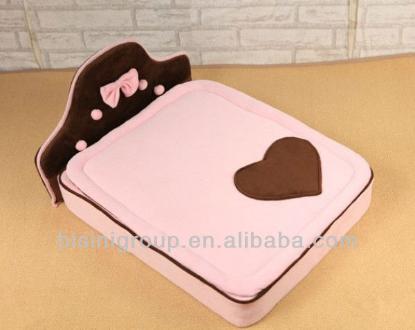 Pink pet bed, fashion and simple dog bed (BF07-80048)