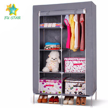 PN newest portable folding fabric wardrobe & storage modern bedroom sets