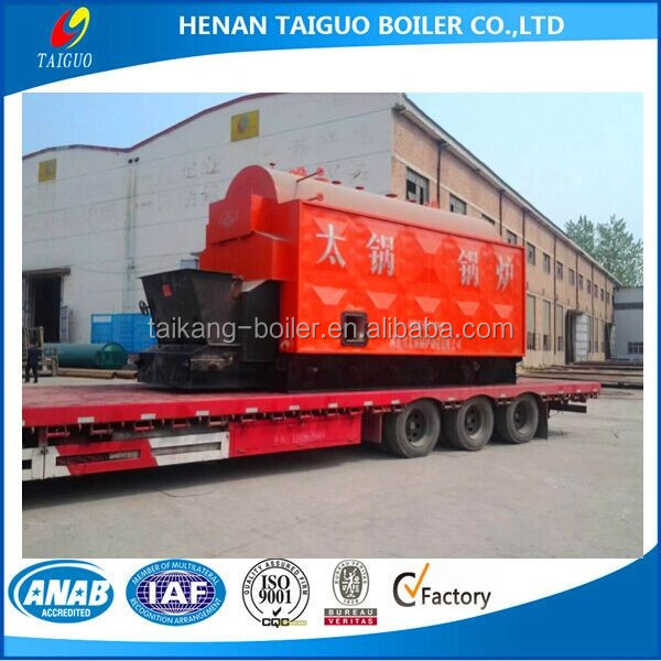 2 ton great quality horizontal chain grate industrial wood pellet/biomass /rice husk fired steam boiler price