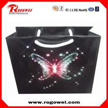 Christmas spark paper bag with low price