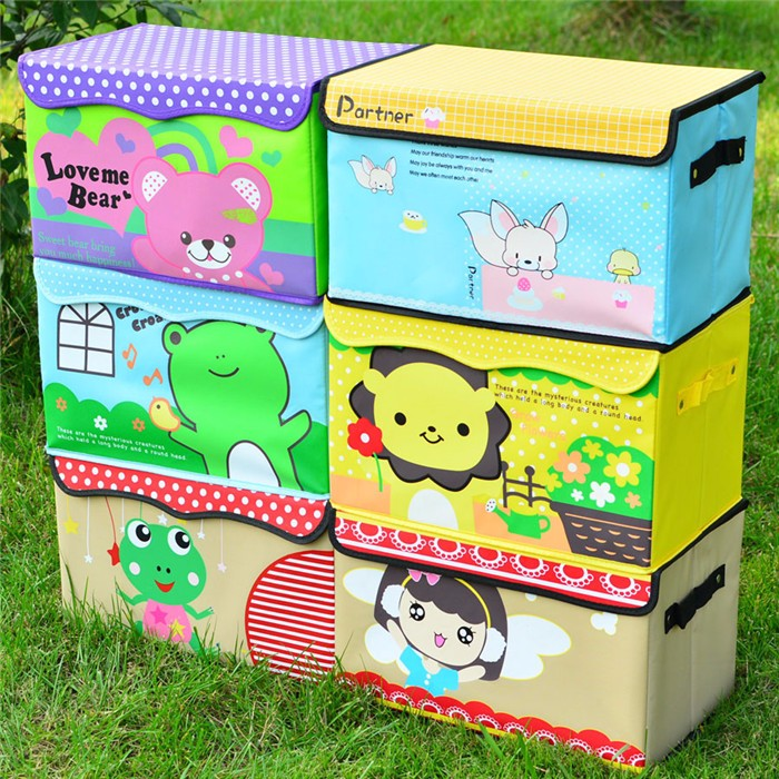 Top quality customized pretty storage boxes with lids