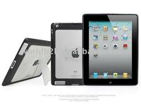 TPU +PC case for Apple Ipad2 with stand