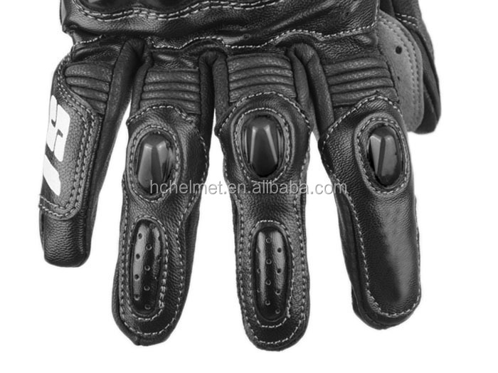 RIGWARL Protective Motorcycle & Auto Racing Sportswear Black Carbon Fiber Motorcycle Gloves With OEM service