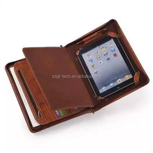 Portable Multifunction PU Leather Skin Travel Storage Organizer Pouch case For ipad air case And Accessories
