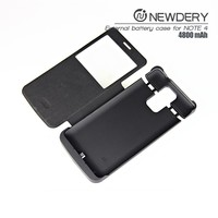 Backup External Battery Charger Case for Samsung Galaxy Note 4 With Stable Kickstand+LED Smart Power Indication