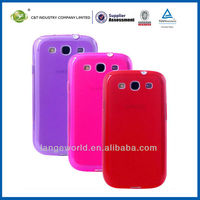 C&T TPU GEL SOFT phone case for samsung galaxy 3