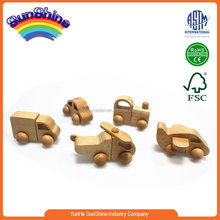 2016 New Hot Sell Wooden Train EN71 ASTAM stander Railway Train wooden train track plane toy Assembled mini set