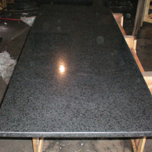 Designed Sesame Black polished 60x120 granite slab