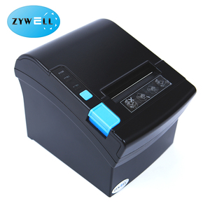 zy901 80mm digital pos receipt thermal printing machine desktop computer used printer