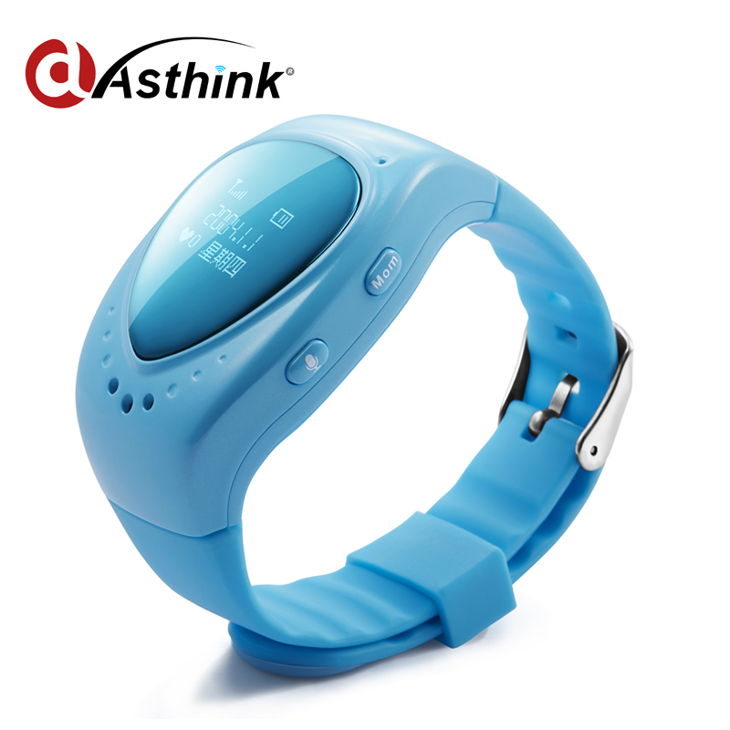 Smart Watch GPS Realtime Tracking gps tracker no sim A6 With ISO9001 Certificate