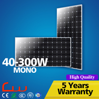 Good Performance Durable Material 130W 75 Watt PhotoVoltaic Solar Panel