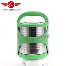 customiszable elegant useful best quality stainless steel lunch box with compartment