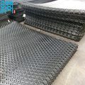Raised Diamond Opening Mild Steel Expanded Metal Mesh Panels