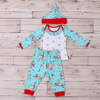 3pcs Winter And Spring Baby Girl